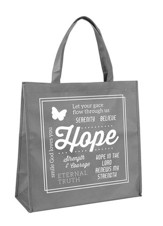 Hope Tote Bag, Gray
