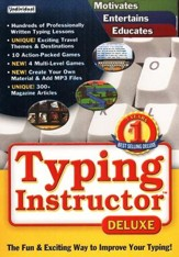 Typing Instructor Deluxe 17.0 on CD-ROM