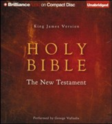KJV New Testament - unabridged audiobook on CD