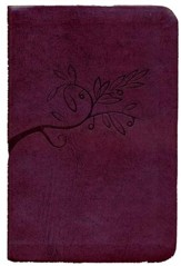 The Book of Psalms for Worship, Slim Mini, Burgundy