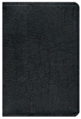 KJV Scofield Study Bible Genuine Leather, Black Thumb-Indexed  - Imperfectly Imprinted Bibles