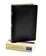 NRSV Bible, Black Genuine Leather