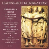 Learning About Gregorian Chant - Audiobook on CD