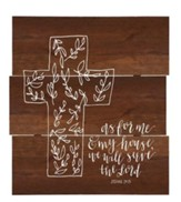 As For Me & My House, Cross, Wall SiGN