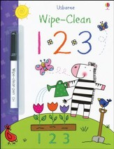 Usborne Wipe-Clean: 1 2 3