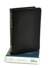 UBS Greek New Testament: Reader's Edition with Textual Notes, Calfskin Leather, black