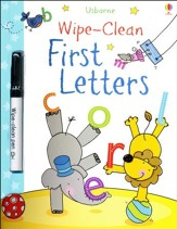 Usborne Wipe-Clean: First Letters