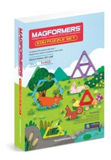 Magformers, Edu Puzzle Set, 7 pieces