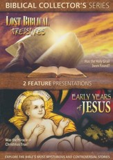 Lost Biblical Stories & The Early Years of Jesus, Double Feature  DVD