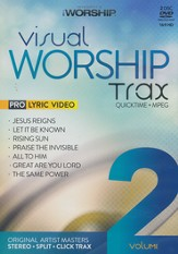 iWorship Visual Worship Trax: Volume 2, 2-Disc Set 2 Disc Set: DVD & DVD ROM