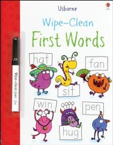 Usborne Wipe-Clean: First Words