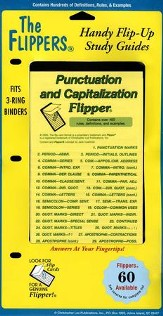 Punctuation & Capitalization Flipper