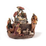 Musical Nativity Water Globe