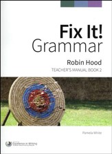 Fix It! Grammar Book 2: Robin Hood  (Grades 3-12)