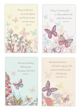 Praying For You, Butterflies Cards, Box of 12