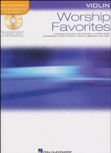 Worship Favorites: Violin Solo with CD