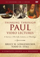 Thinking through Paul Video Lectures: A Survey of His Life, Letters, and Theology, DVD