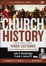 Church History, Volume Two Video Lectures: From Pre-Reformation to the Present Day - Slightly Imperfect