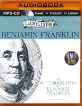 The Autobiography of Benjamin Franklin - unabridged audiobook on MP3-CD