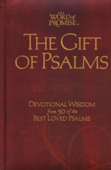 The Word of Promise Gift of Psalms   - Imperfectly Imprinted Bibles