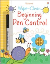 Usborne Wipe-Clean: Beginning Pen  Control