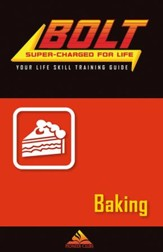 BOLT Baking Life Skill Training: Guide for Kids, 5 pack