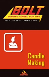 BOLT Candle Making Life Skill Training: Guide for Kids, 5 pack