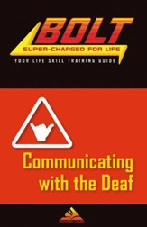 BOLT Communicating with the Deaf Life Skill Training: Guide for Kids, 5 pack