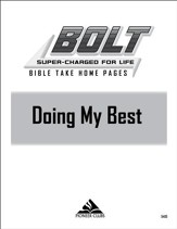BOLT Doing My Best: Take Home Pages, 10 pack