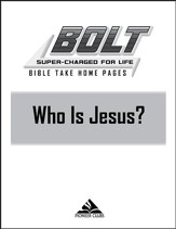 BOLT Who Is Jesus?: Take Home Pages, 10 pack