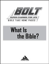 BOLT What Is the Church?: Take Home Pages, 10 pack