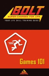 BOLT Games 101 Life Skill Training: Guide for Kids, 5 pack