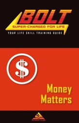 BOLT Money Matters Life Skill Training: Guide for Kids, 5 pack
