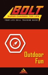 BOLT Outdoor Fun Life Skill Training: Guide for Kids, 5 pack