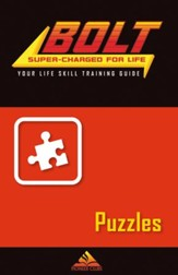 BOLT Puzzles Life Skill Training: Guide for Kids, 5 pack