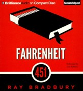 Fahrenheit 451: A Novel - unabridged audiobook on CD