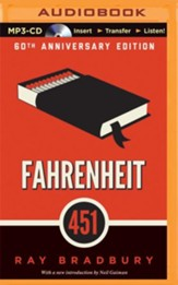 Fahrenheit 451: A Novel - unabridged audiobook on MP3-CD