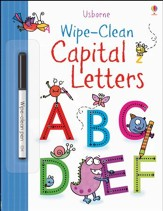 Usborne Wipe-Clean: Capital Letters