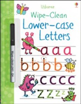 Usborne Wipe-Clean: Lower-case Letters