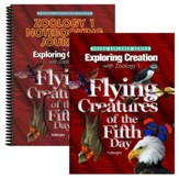 Exploring Creation with Zoology 1:  Flying Creatures of  the Fifth Day Advantage Set (Notebooking Journal)