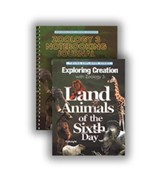 Exploring Creation with Zoology 3:  Land Animals of the  Sixth Day Advantage Set (with Notebooking Journal)