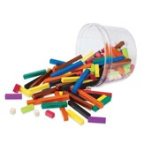 Cuisenaire® Rods Small Group Set, Wood