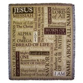 Names of Jesus Throw