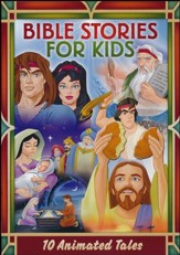 Bible Stories for Kids: 10 Animated Tales, 2-DVD Set