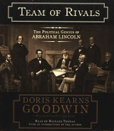 Team of Rivals: The Political Genius of Abraham Lincoln Abridged Audiobook on CD