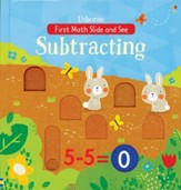 Subtracting: First Math Slide & See