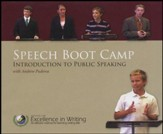Speech Boot Camp: Introduction to Public Speaking-- DVDs with E-book
