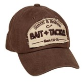 Bait and Tackle Cap, Brown