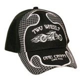 Two Wheels Cap, Black