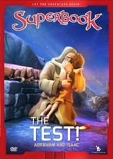 Superbook: The Test! Abraham and Isaac, DVD